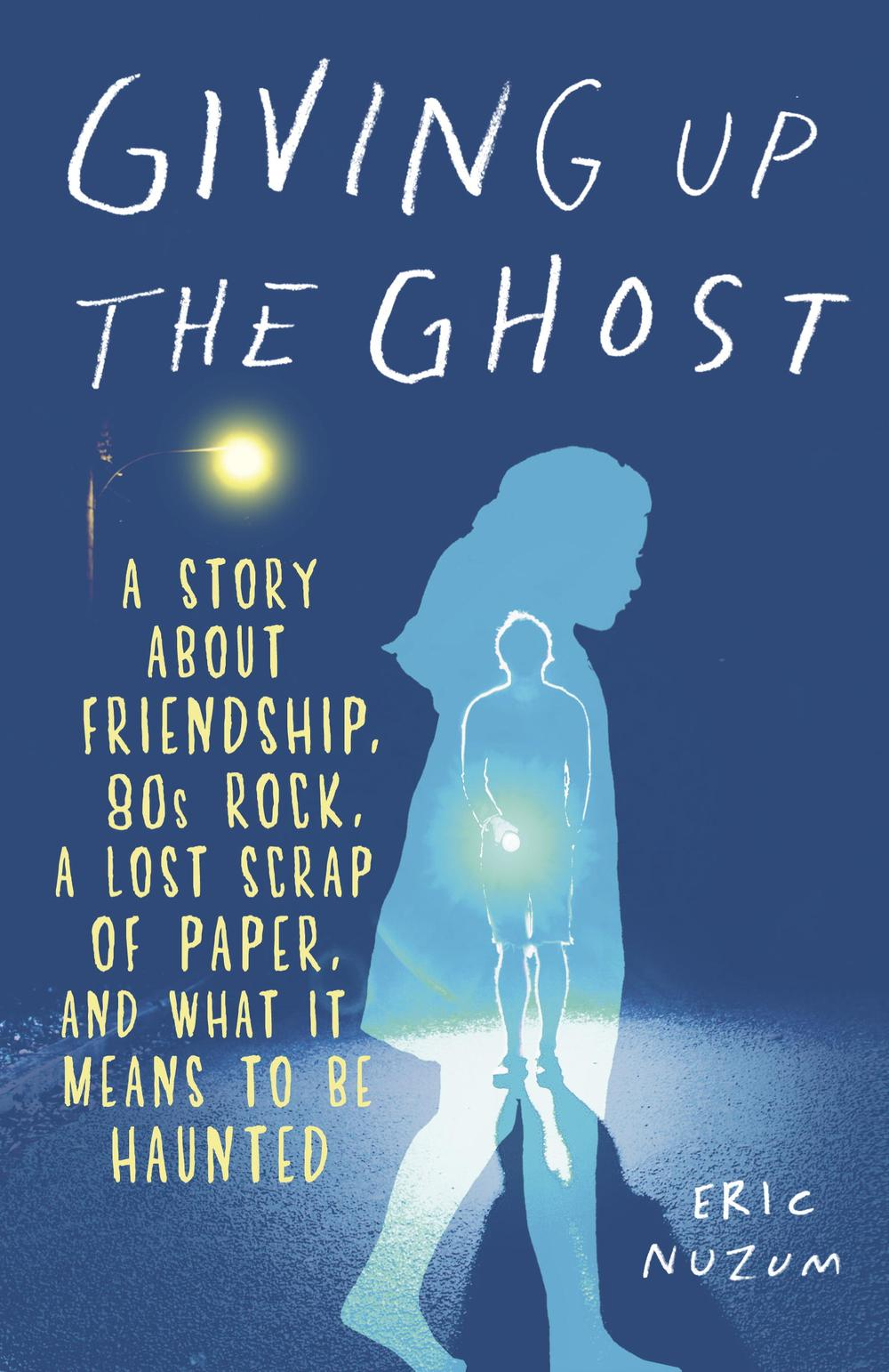 Giving Up The Ghost book cover
