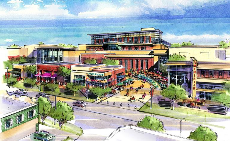 An artist's rendering of Ameristar's proposed Springfield casino