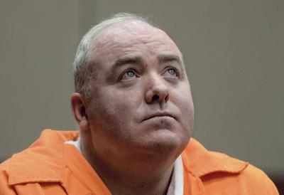 Michael Skakel at his first parole hearing in January at McDougall-Walker Correctional Institution in Suffield, Conn. (Jessica Hill/AP)