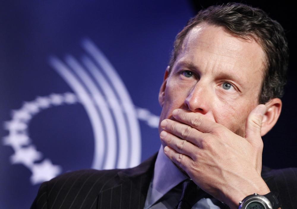 Lance Armstrong is now one of many athletes, and teams, with victories stripped from the history books. (Mark Lennihan/AP)