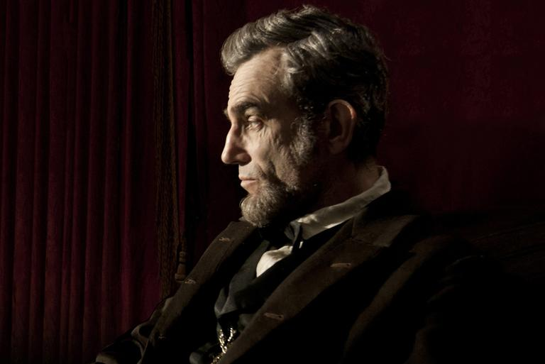 """Daniel Day Lewis stars as President Abraham Lincoln in this scene from director Steven Spielberg's """"Lincoln"""" from DreamWorks Pictures and Twentieth Century Fox."""
