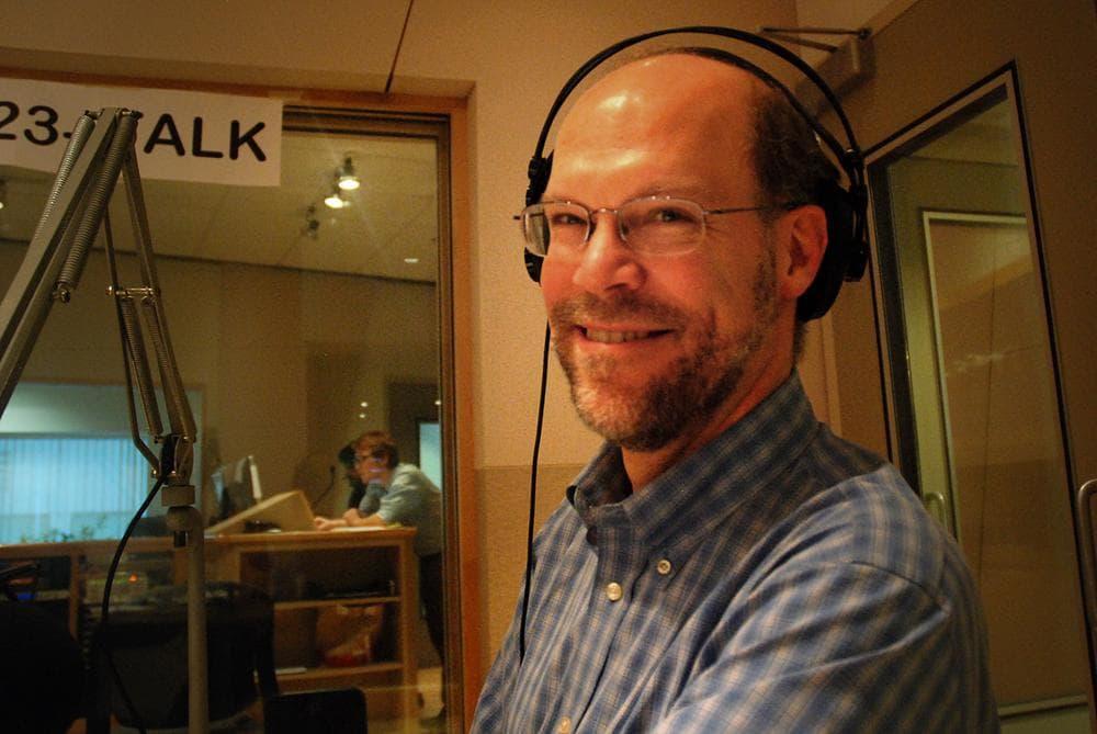 Frank Gillette, vice president of Forrester Research. (Jesse Costa/WBUR)