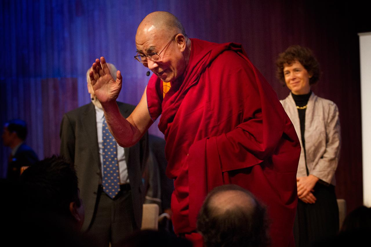 Dalai Lama Considers Climate Change At MIT Forum | WBUR News