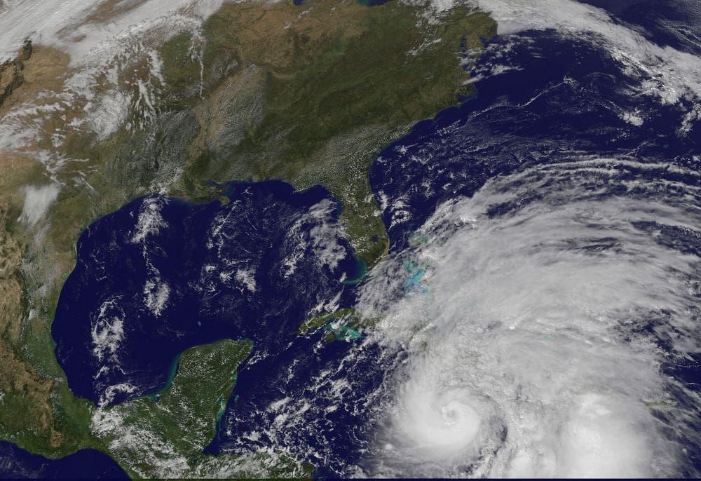 Satellite image of Hurricane Sandy (NASA)