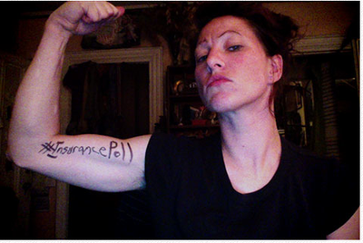 Amanda Palmer tweets on health insurance and her ever-reliable fans respond. (Photo: amandapalmer.net)