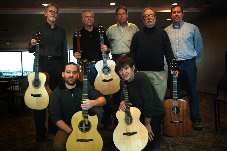 The New England Luthiers (Jesse Costa/WBUR)