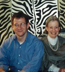An undated photo of Will Schwalbe with his mother, Mary Anne.