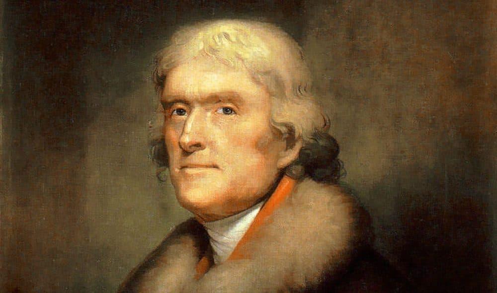 Thomas Jefferson, by Rembrandt Peale (1805)