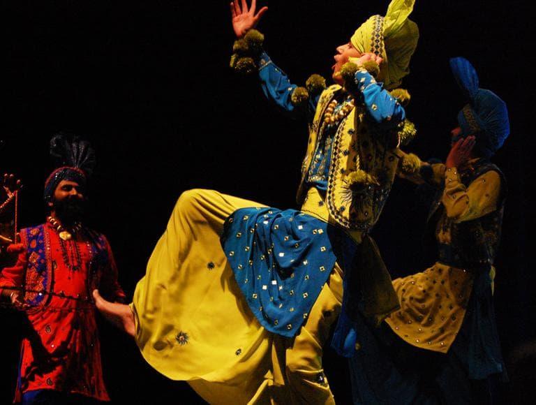Nachdi Jawani Waris dancers from Toronto. (Greg Cook)