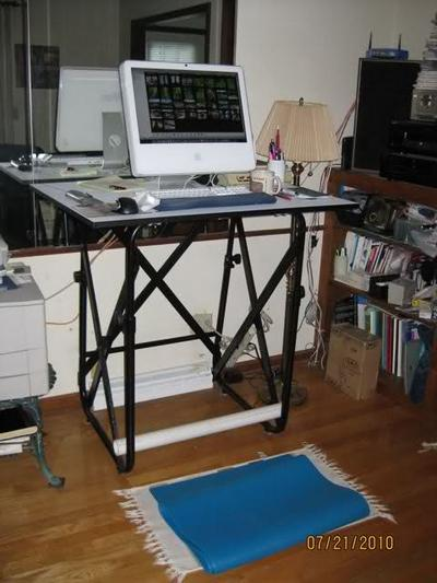 Can T Have A Treadmill Desk At Work Try A Wobble Board