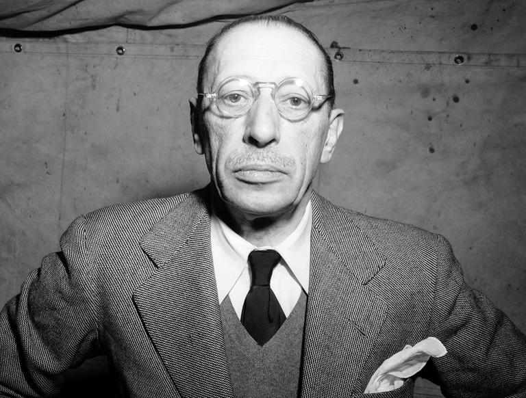 Composer Igor Stravinsky is shown in New York City in February 1946. (AP)