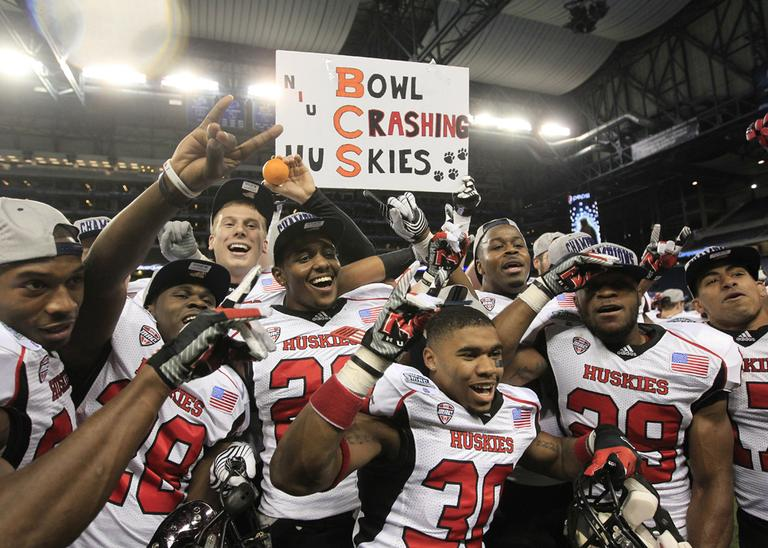 Northern Illinois, the first team from the Mid-American Conference invited to a BCS bowl game, will face Florida State in the Orange Bowl. (Carlos Osorio/AP)