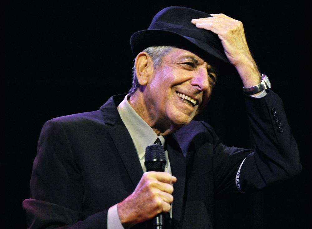 aae5c8fbbc0 Leonard Cohen performs during the Coachella Valley Music   Arts Festival in  Indio