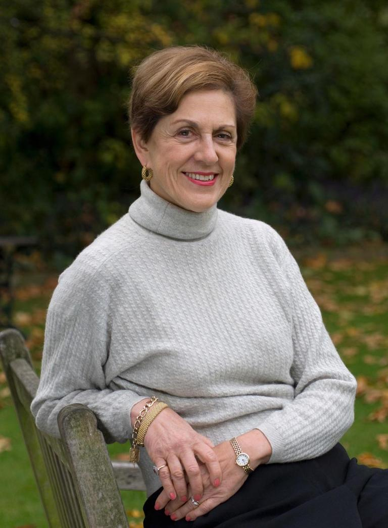 """Barbara Paul Robinson is author of """"Rosemary Verey: The Life and Lessons of a Legendary Gardener ."""" (Jerry Harpur)"""