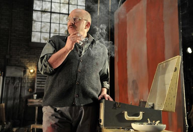 "Thomas Derrah as Mark Rothko in ""Red."" (Perspective Photo/Craig Bailey)"