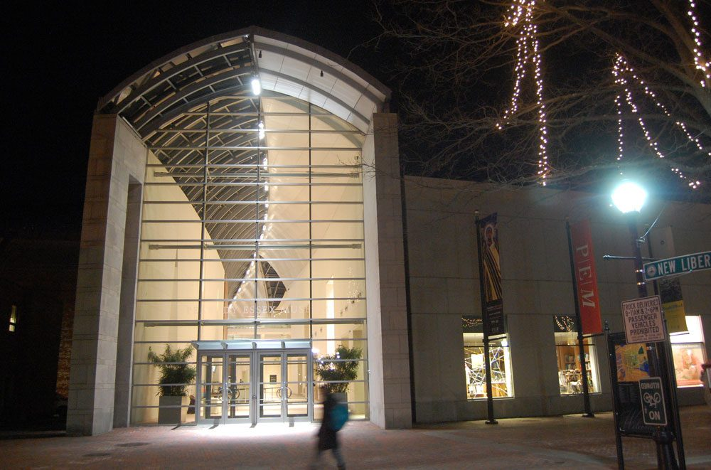 The Peabody Essex Museum in Salem. (Greg Cook/WBUR file photo)