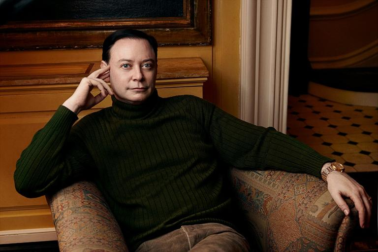 Andrew Solomon (Photo by Annie Leibovitz)