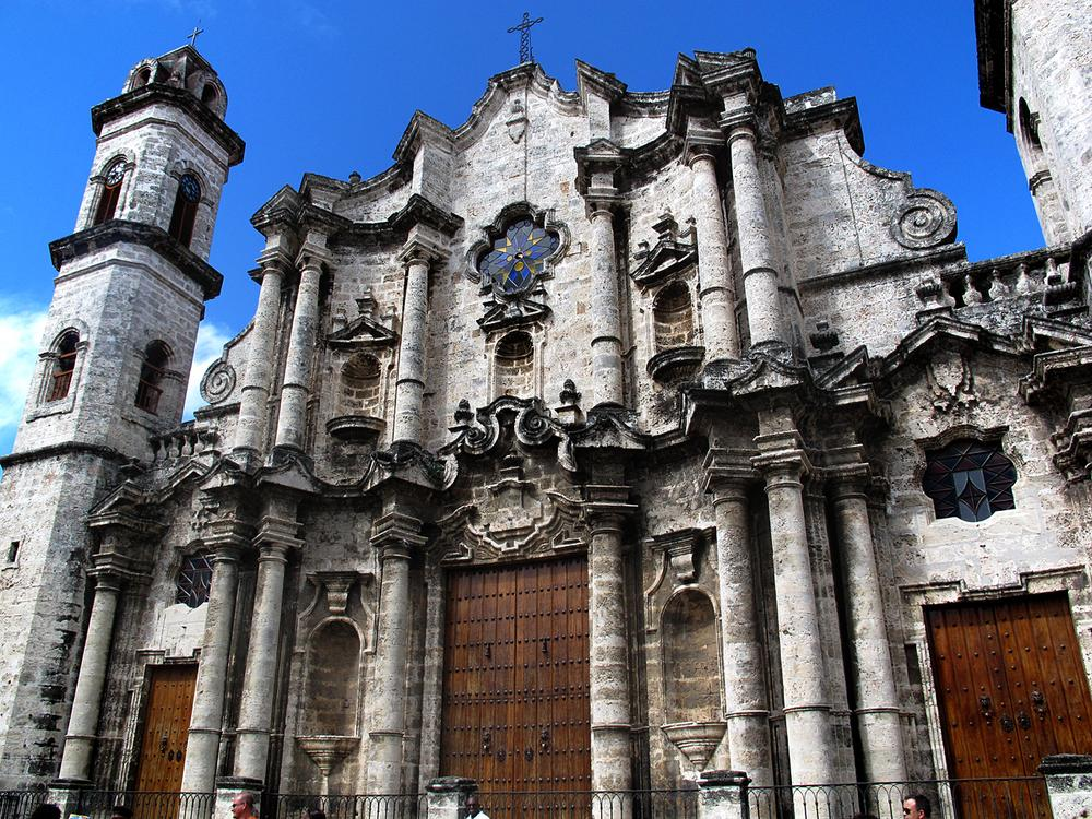 The Cathedral de San Cristobal.