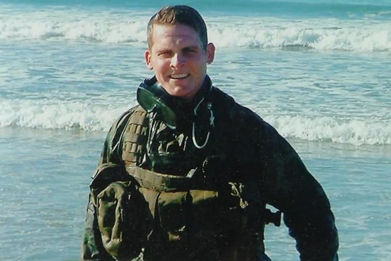 Navy SEAL Robert Guzzo committed suicide in November 2012. (Screenshot from The Fold)
