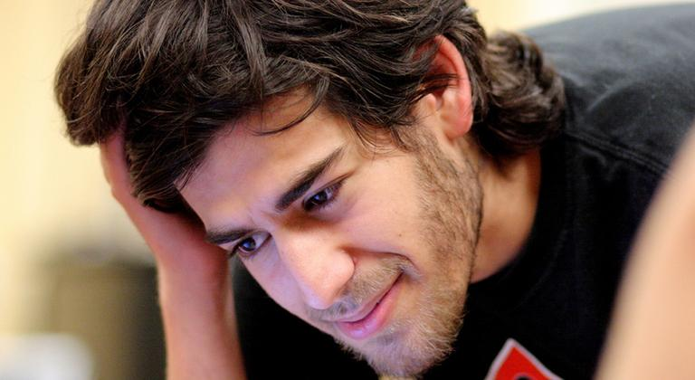Aaron Swartz is pictured at Boston Wiki Meetup in August 2009. (ragesoss/Flickr)