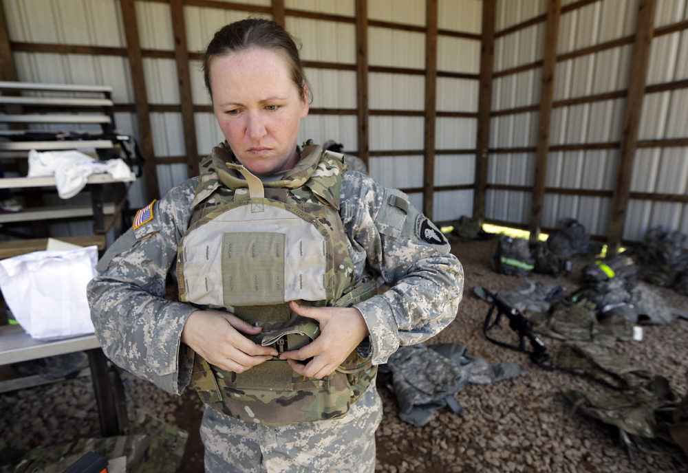 What It S Really Like To Be A Woman In Combat Here Now 'women not fit enough to fight on the front line', says former female army major as us announces major judith webb said that women aren't physically up to combat speaking after us government allows women soldiers to fight on front line a former senior army female officer has said that women soldiers should not be allowed to fight. https www wbur org hereandnow 2013 01 24 women in combat