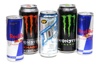 Red Bull, Monster and Jolt are among the dozens of brands of energy drinks. (Photo: seattlechildrens.org)