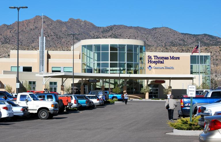 St. Thomas More Hospital provides 24-hour emergency and acute care in Cañon City, Colo. (St. Thomas More Hospital)
