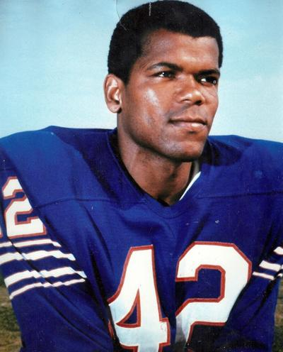 Butch Byrd's team portrait from the Bills' 1969 season. (Courtesy)