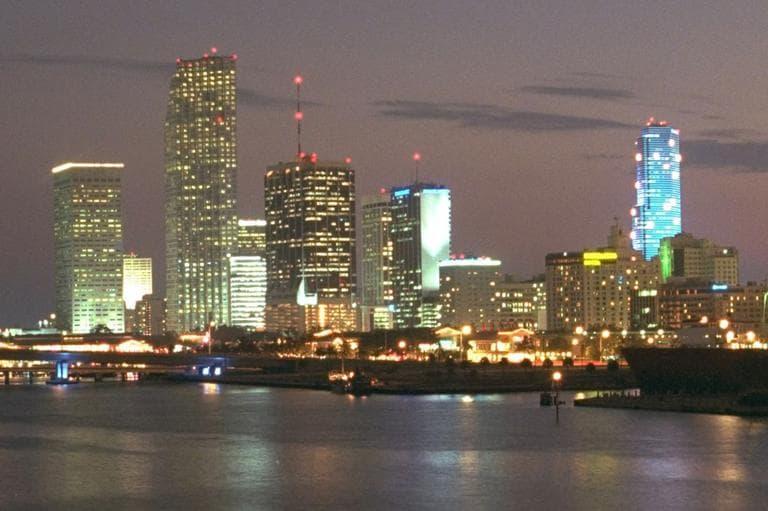 Miami skyline. (AP)