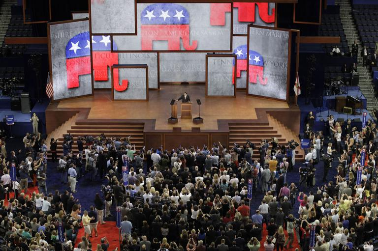 The Republican National Convention opens in Tampa, Fla., on Monday, Aug. 27, 2012. (AP)
