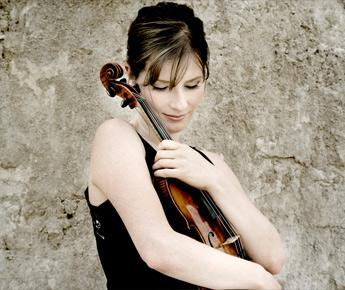 Lisa Batiashvili. (Photo courtesy of Boston Symphony Orchestra/Mat Hennek.)