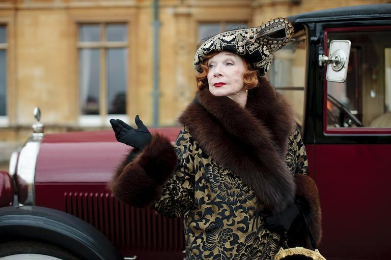"""Shirley MacLaine joins """"Downton Abbey."""" (Photo courtesy of Carnival Film and """"Masterpiece."""")"""