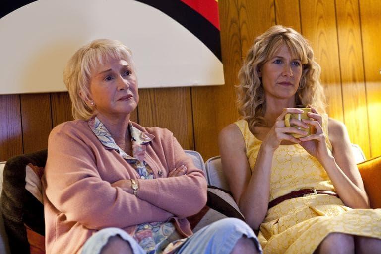 "Diane Ladd and Laura Dern in ""Enlightened."" (AP/HBO)"