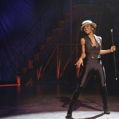 """Patina Miller as the Leading Player in """"Pippin."""" (Michael J. Lutch)"""