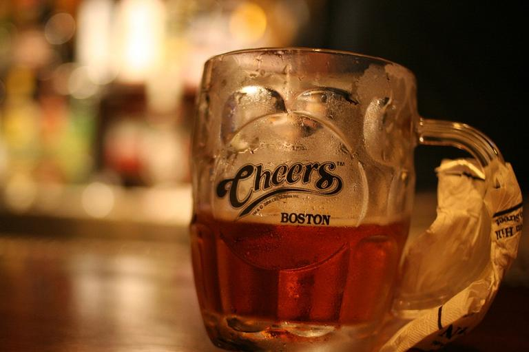 A mug from Cheers in Boston, Mass. (Jesper Rønn-Jensen/Flickr)