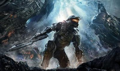 Poster for Halo 4.