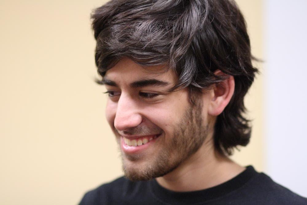 Aaron Swartz at the Boston Wiki Meetup in 2009. (Flickr/ragesoss)