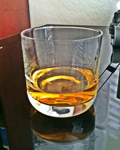 A dram of whiskey (Wikimedia Commons)