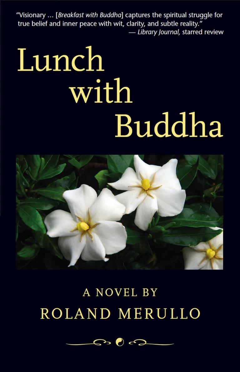 Lunch with Buddha by Roland Merullo book cover.