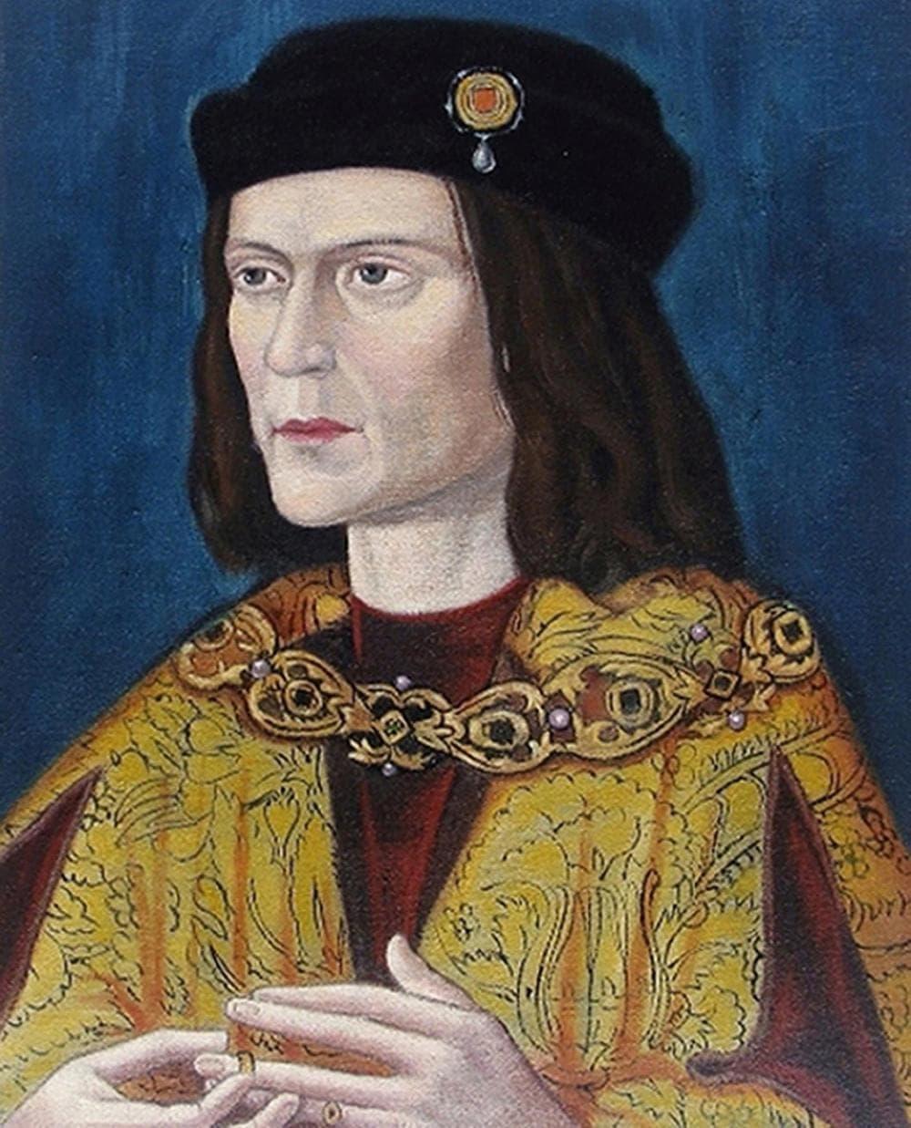 The earliest surviving portrait of Richard III. (AP)