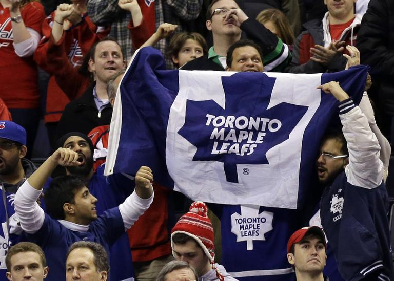 Maple Leafs fans could have a choice to make, if the neighboring city of Markham lures a second NHL team to the Greater Toronto Area. (Alex Brandon/AP)