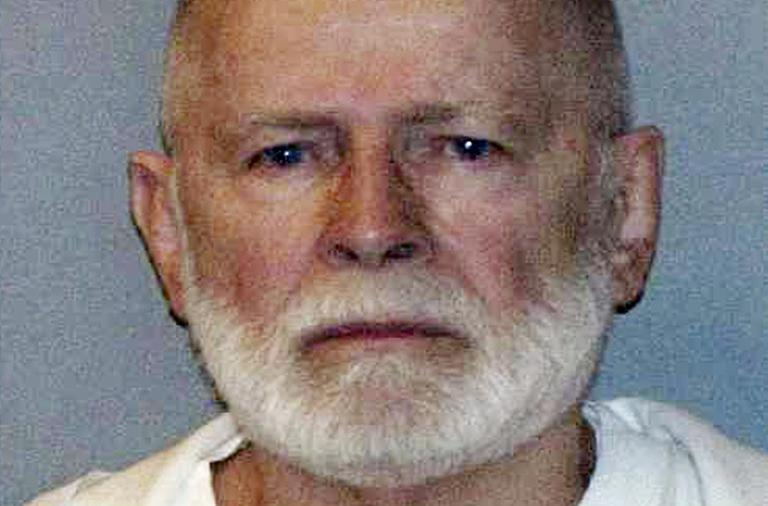 "This June 23, 2011 file booking photo provided by the U.S. Marshals Service shows James ""Whitey"" Bulger, who was captured in June 2011 in Santa Monica, Calif., with his longtime girlfriend Catherine Greig."