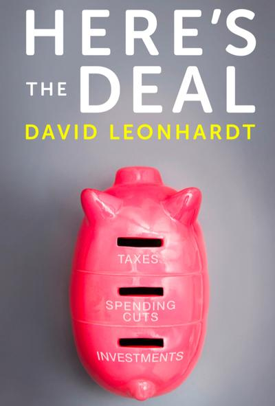 """Here's the Deal"" by David Leonhardt book cover."