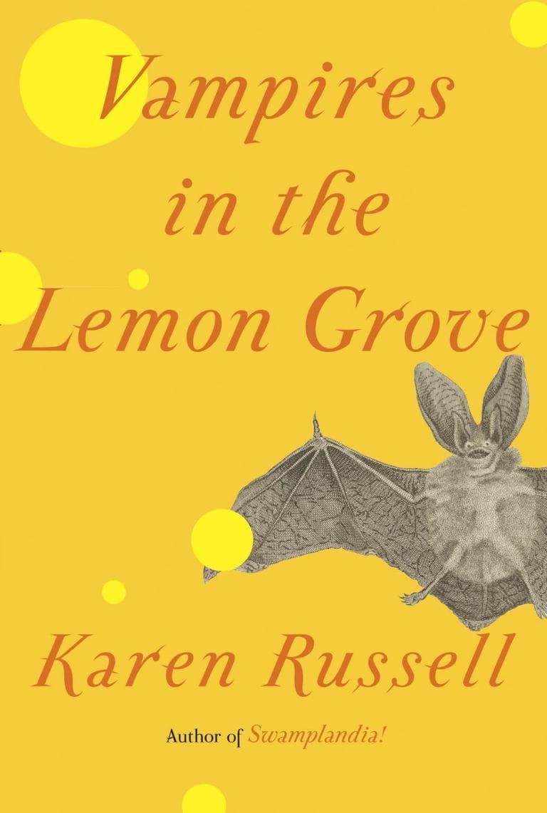 """Vampires in the Lemon Grove"" book cover"