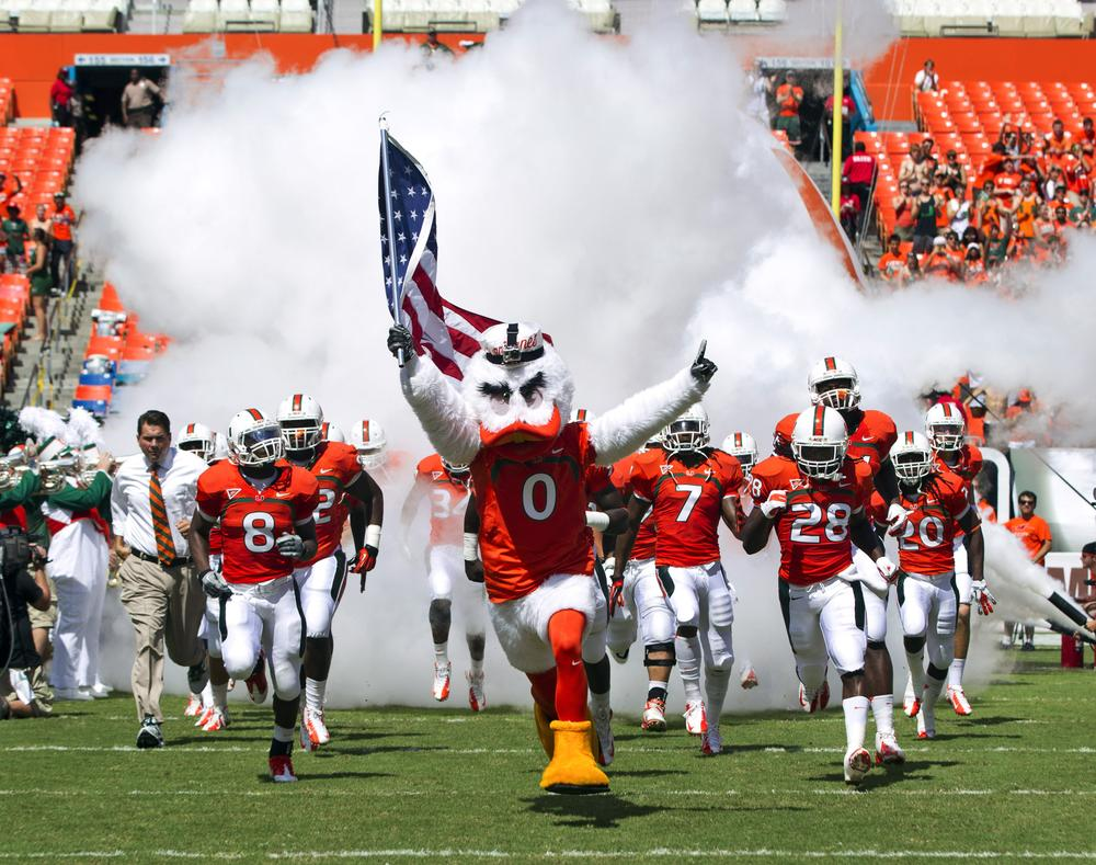 The NCAA's investigation of the University of Miami has taken an unexpected turn. (J Pat Carter/AP)