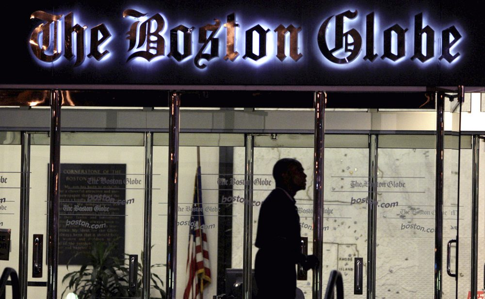 Many Boston Globe subscribers have been without their morning paper. (Charles Krupa/AP)