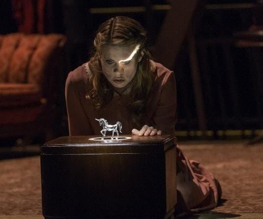 "Celia Keenan-Bolger as Laura in ""The Glass Menagerie."" (Michael J. Lutch)"