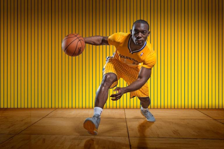 The Golden State Warriors will make NBA history on Feb. 22 when they play in their new alternate jerseys with sleeves. (NBA.com/warriors)