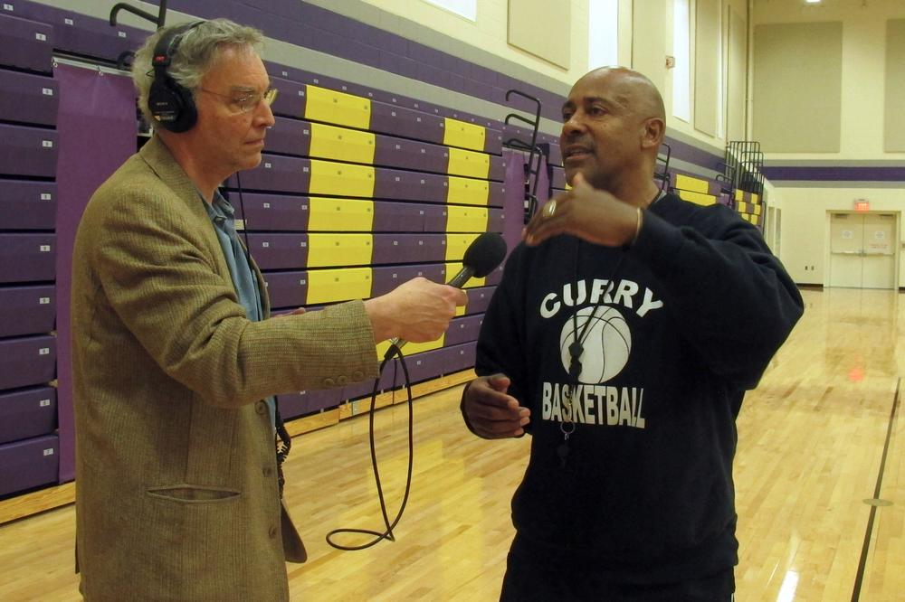 After coaching at Roxbury Community College, Malcolm Wynn now calls Curry College home. (Only A Game)