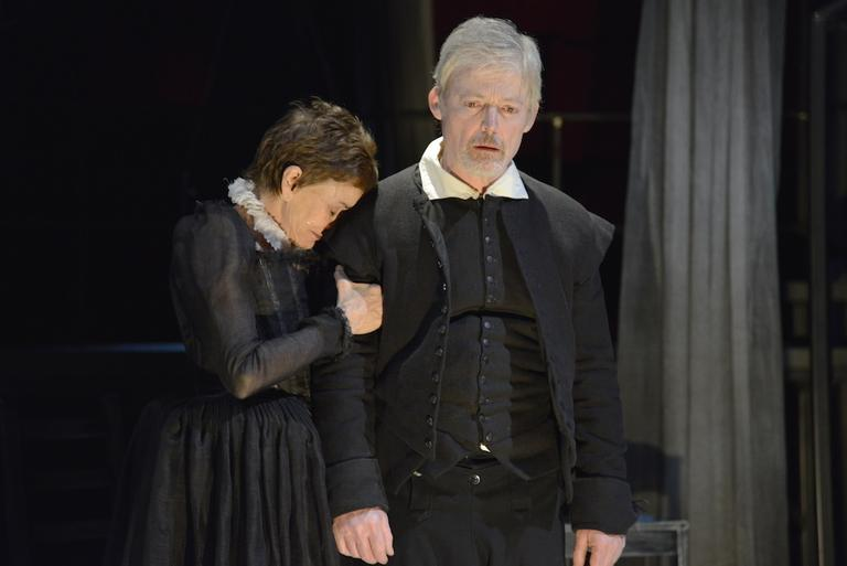 """Brooke Adams as Anne and Allyn Burrows as Will in """"The Last Will."""" (Photo by Andrew Brilliant/Brilliant Pictures)"""